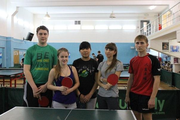 15 мая команда института по настольному теннису заняла 3 место!