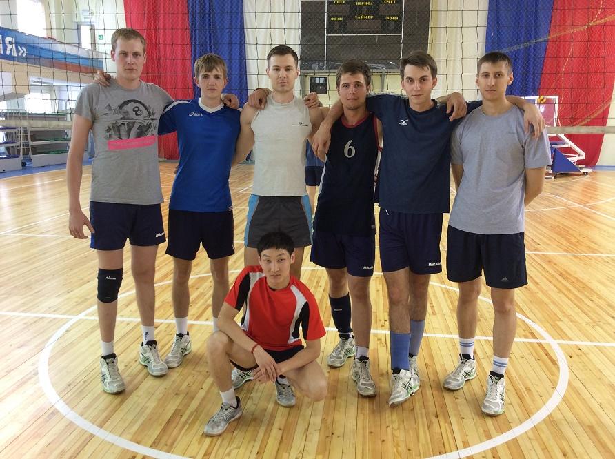 Сборная команда института по волейболу заняла первое место на межинститутской спартакиады!!!