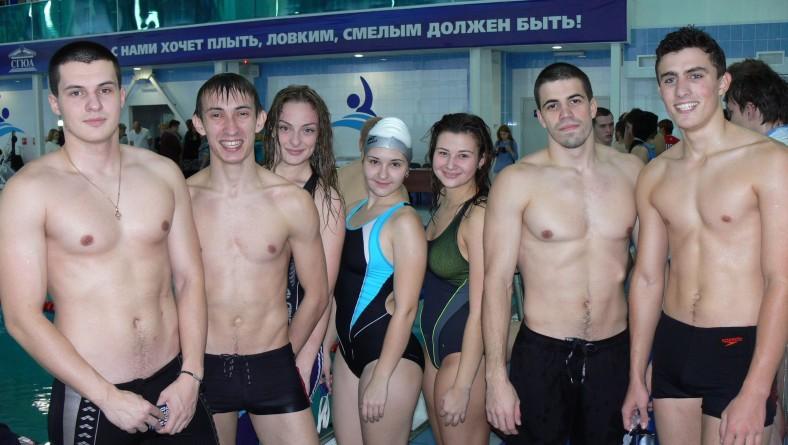 Команда института по плаванию заняла 1 место в спартакиаде СГЮА!