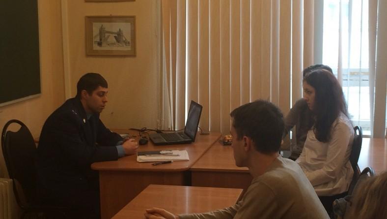 Встреча студентов с помощником прокурора Лысогорского района