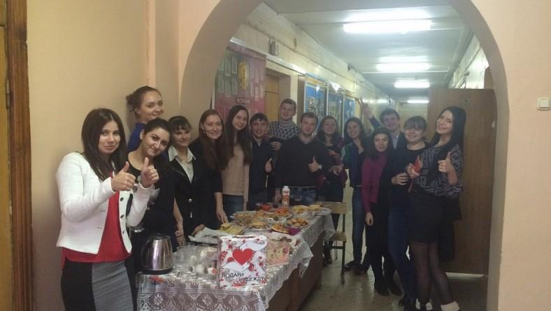 Студенты института приняли участие в благотворительных акциях «Подари Надежду»