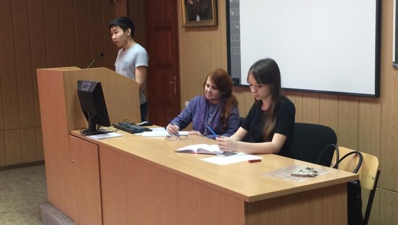 Заседание Дискуссионного клуба первокурсников