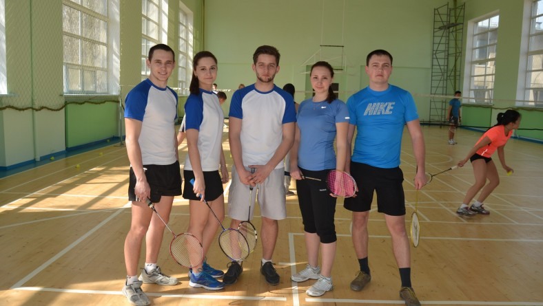 Команда института по бадминтону заняла первое место на соревнованиях СГЮА!