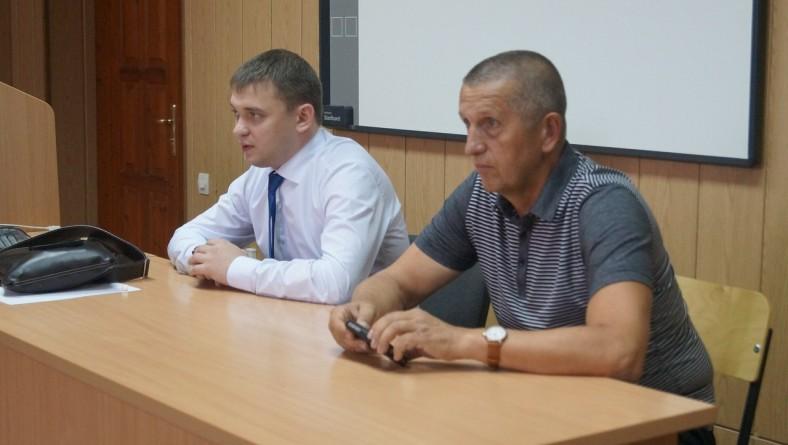 В институте прошла встреча студентов со следователем Следственного комитета РФ по Саратовской области