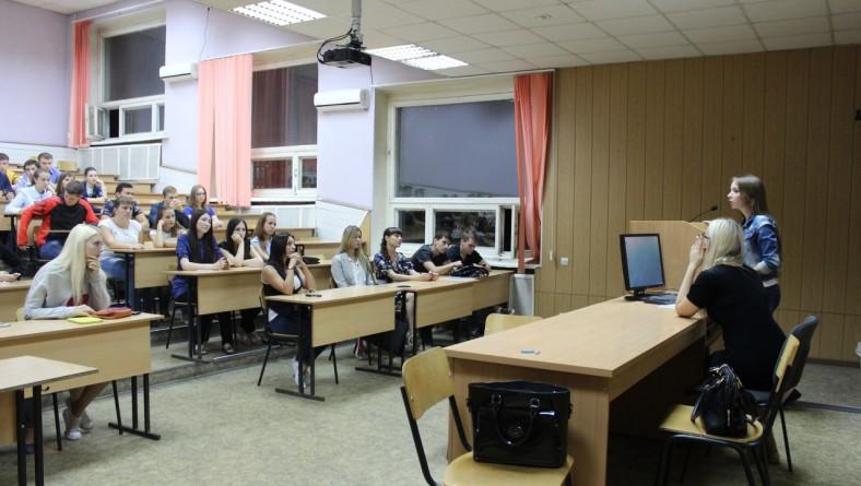 В институте состоялось организационное собрание НСО ИПД с участием студентов первого курса