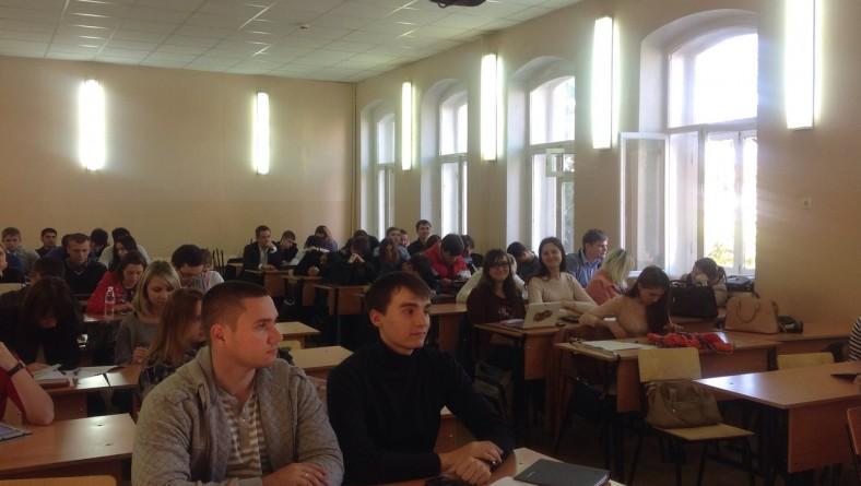 """В институте состоялась потоковая научная студенческая конференция """"Государственное регулирование предпринимательской деятельности"""""""