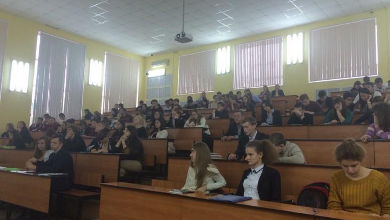 В институте  состоялась  научная студенческая конференция 1 курса потока 1-4 «Государство и право в период Гражданской войны»