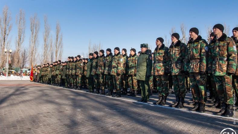 Поздравление с началом обучения на военной кафедре от НСО ИПД