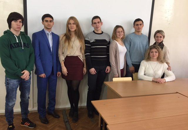 В институте состоялась встреча студентов с практическим работников