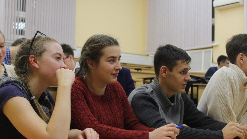 Вторая игра студенческого научного клуба интеллектуальной игры «Что? Где? Когда?»