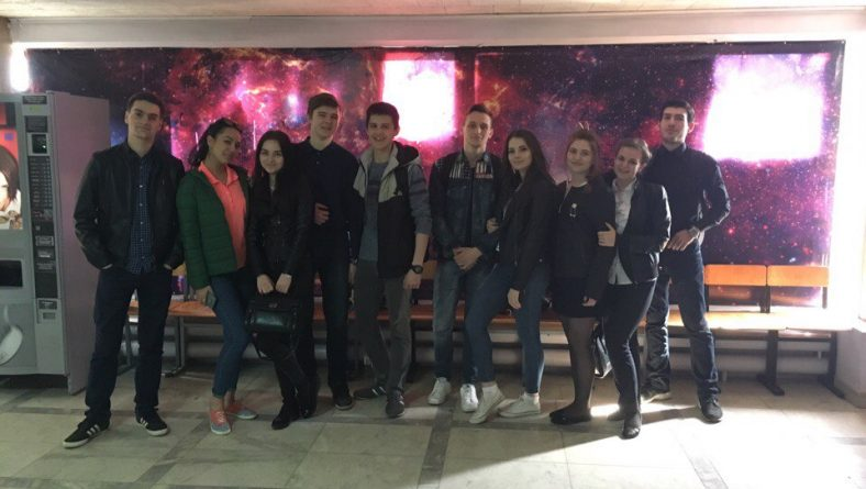 Студенты Института правоохранительной деятельности в рамках кураторского часа посетили Саратовский планетарий