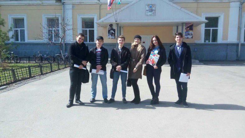 Студенты 166 группы ИПД СГЮА провели тренинг по правам человека среди учеников 8 класса школы № 95 г. Саратова
