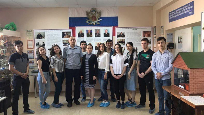 Студенты 224 группы Института правоохранительной деятельности посетили музей истории УФСИН по Саратовской области
