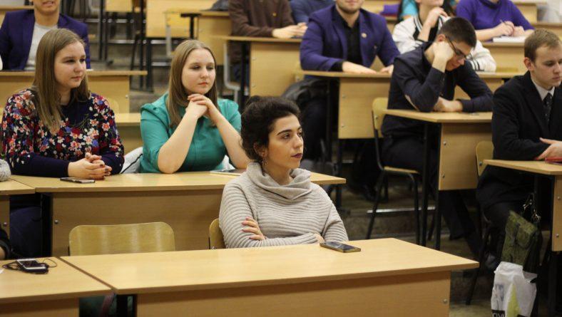 В Институте состоялось очередное собрание Научного студенческого общества