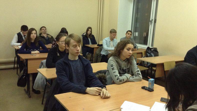 Состоялось очередное заседание Научного студенческого общества