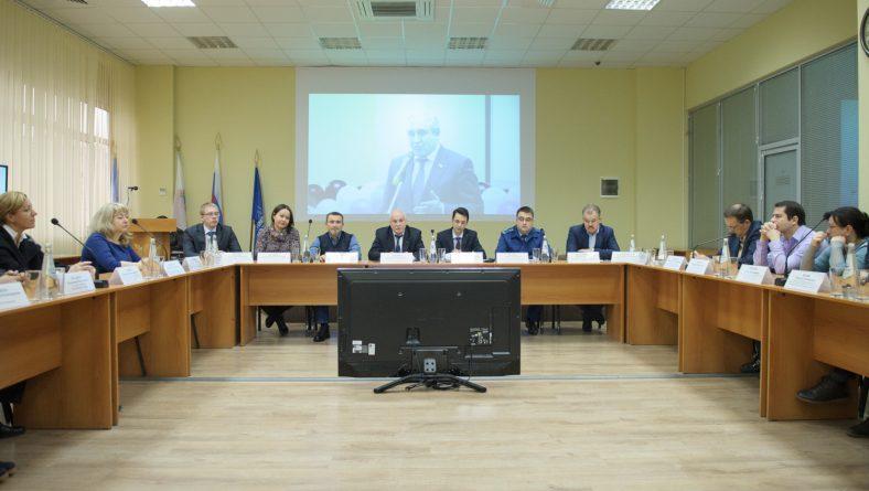 Студенты Института правоохранительной деятельности на круглом столе в рамках Всероссийской интерактивной акции, организованной Торгово-промышленной палатой России