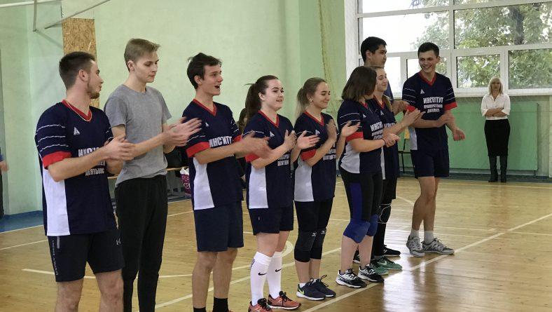 29.10.2018 в рамках спартакиады первокурсников СГЮА состоялись соревнования по волейболу